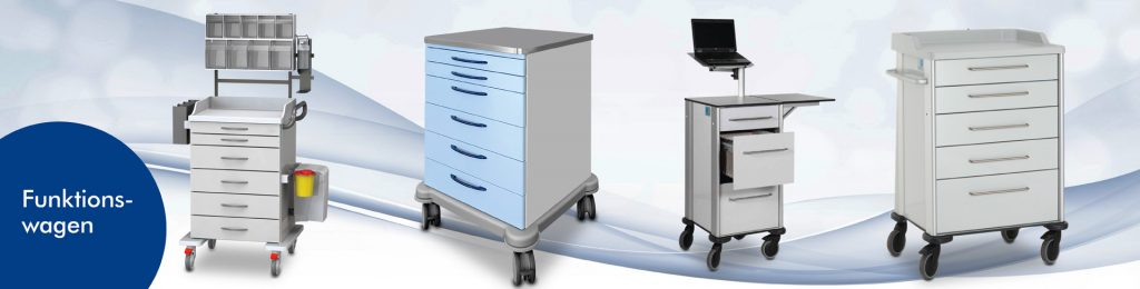 Special-purpose trolleys