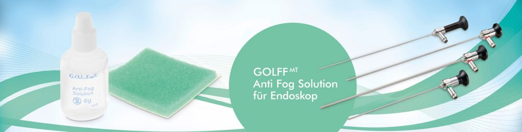 Anti-fogging agent for endoscopy